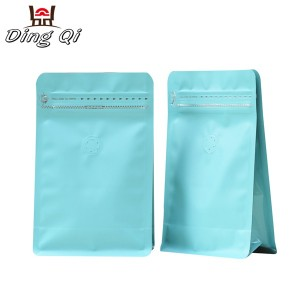 Corrugated Pre-Painted Steel Coil Stand Up Bags With Window - coffee packaging bags – DingQi