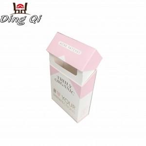 Cardboard cigarette box