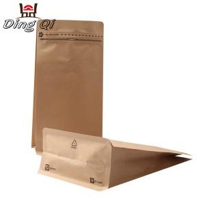 Matt Color Coated Steel Sheet Baby Feeding Pouch - Flat bottom paper bags – DingQi