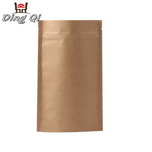 Roofing Tile Kraft Paper Pouch - kraft zipper bags – DingQi