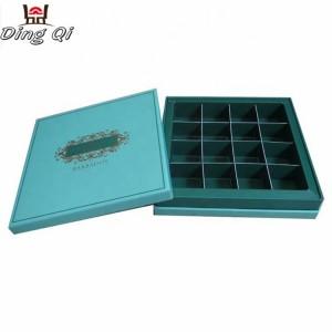 Chocolate cardboard takeaway box