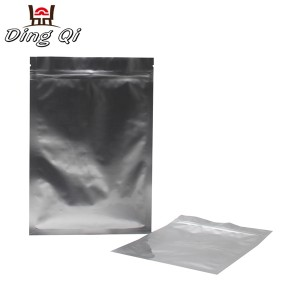Corrugated Aluminum Sheet Aluminum Foil Lined Bags - aluminum foil ziplock bag – DingQi