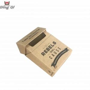 Cardboard cigar box