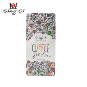 Pre-Painted Corrugated Sheet Sealed Packaging Bags - coffee pouches – DingQi