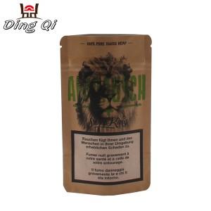 Laminated Galvanized Sheet Dog Food Pouches - kraft ziplock pouch – DingQi