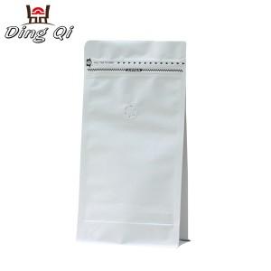 White coffee bag 250g 340g 500g 1kg 2kg