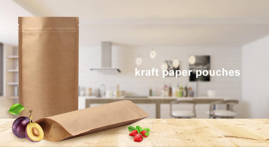 Kraft թուղթ pouches
