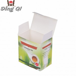 Cardboard boxes for tea packaging