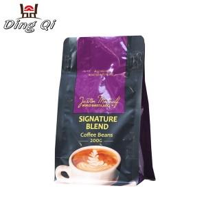 Bright Roofing Steel Brown Ziplock Bags - coffee pouch bags – DingQi