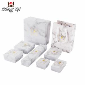 Luxury custom small cardboard jewelry storage display gift packaging box with logo