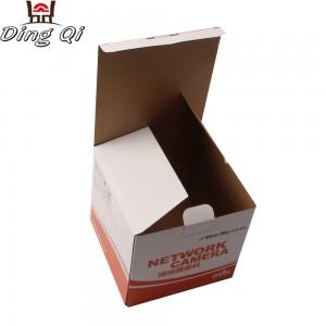Custom corrugated paper carton cardboard packaging box with logo